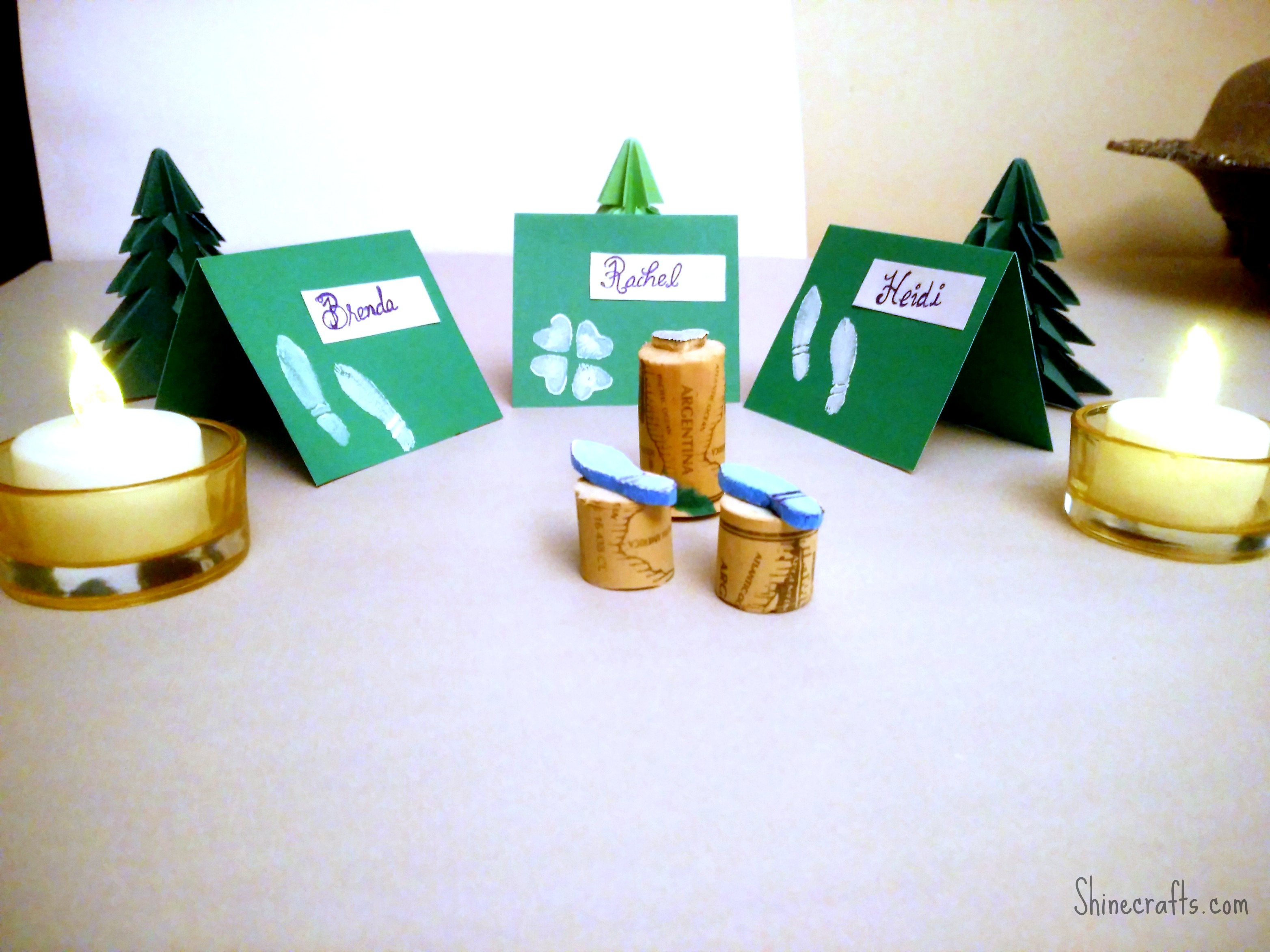 St. Patrick's Day - Last Minute Table Decor