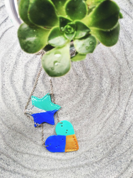 Happiness is Jewelry making! You'll learn how to make dual pendant air dry clay necklace easily!! And this DIY is one of those projects that doesn't require much skills or efforts.
